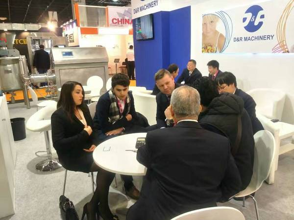 Chengdu LST Science and Technology Co., Ltd. attended  the ISM Exhibition in Germany,Jan 28 to Feb 2. with chocolate machines