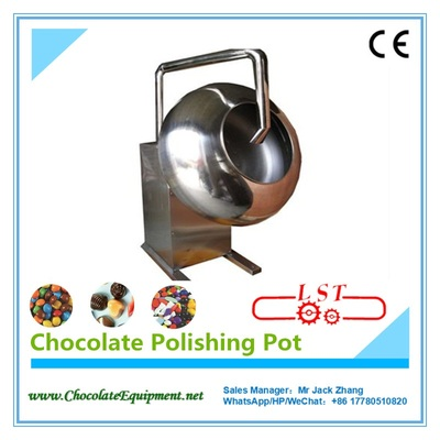 Chocolate Polishing Machine / pot, small Chocolate Coating Machine