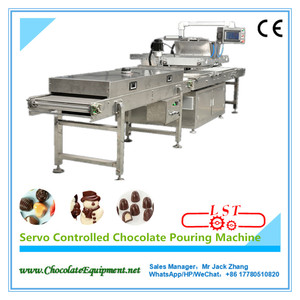 Servo Controlled Chocolate Pouring Machine