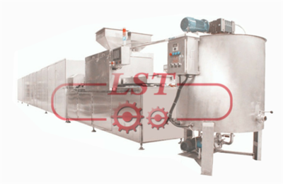 Factory use Full-automatic chocolate machinery Chocolate & Cereal Bar making Machine